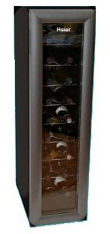 wine cooler haier 30 bottle. Black Bedroom Furniture Sets. Home Design Ideas